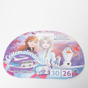 Omalovánky Disney Frozen 2 cestovní