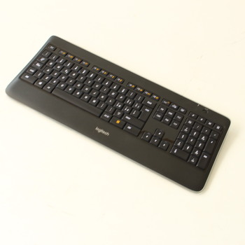 Bezdrátová klávesnice Logitech K800 illuminated