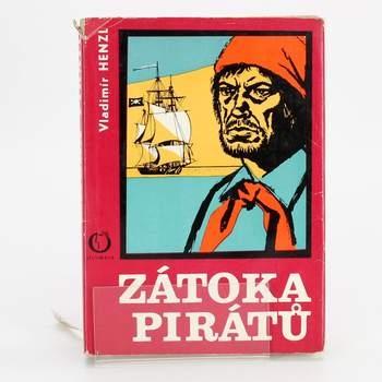 Kniha Zátoka pirátů Vladimír Henzl