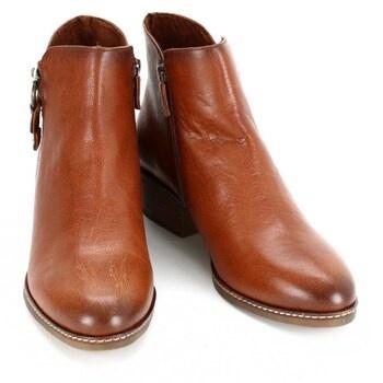 Kotníkové boty Tamaris hnědé
