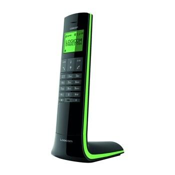 Bezdrátový telefon Logicom Luxia 150 zelený
