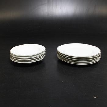 Sada talířů Mäser 931533, 12 ks