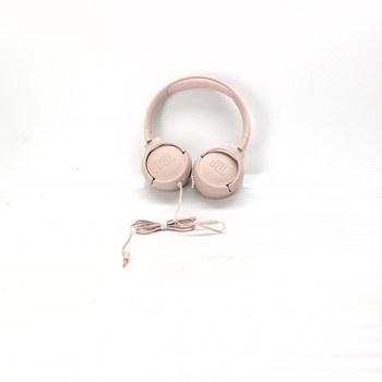 Skládací sluchátka JBL T500, růžové