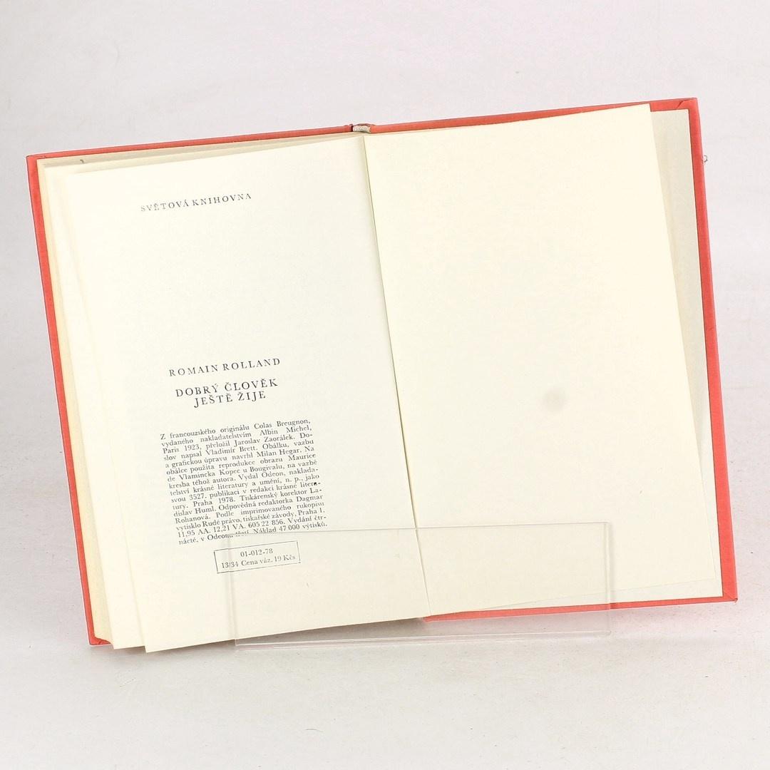 Román Dobrý člověk ještě žije Romain Rolland