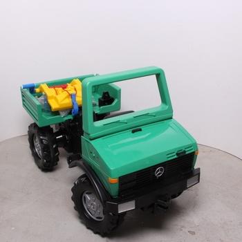 Dětské šlapací auto Rolly-Toys s navijákem