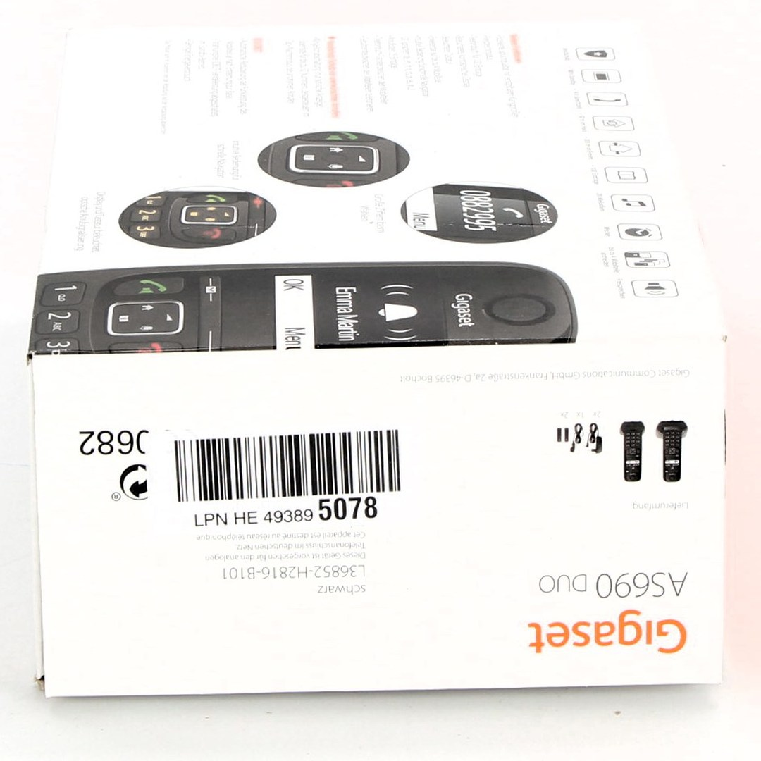 Bezdrátové telefony Gigaset AS690 Duo