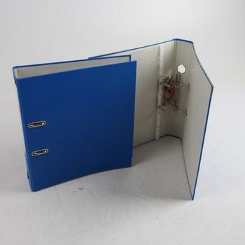 Pákový pořadač Herlitz modrý 2 ks