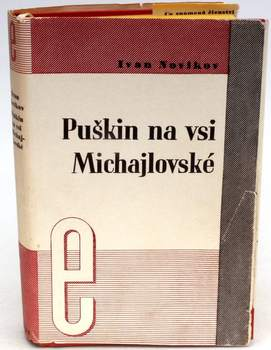 Kniha I. Novikov: Puškin na vsi Michajlovské