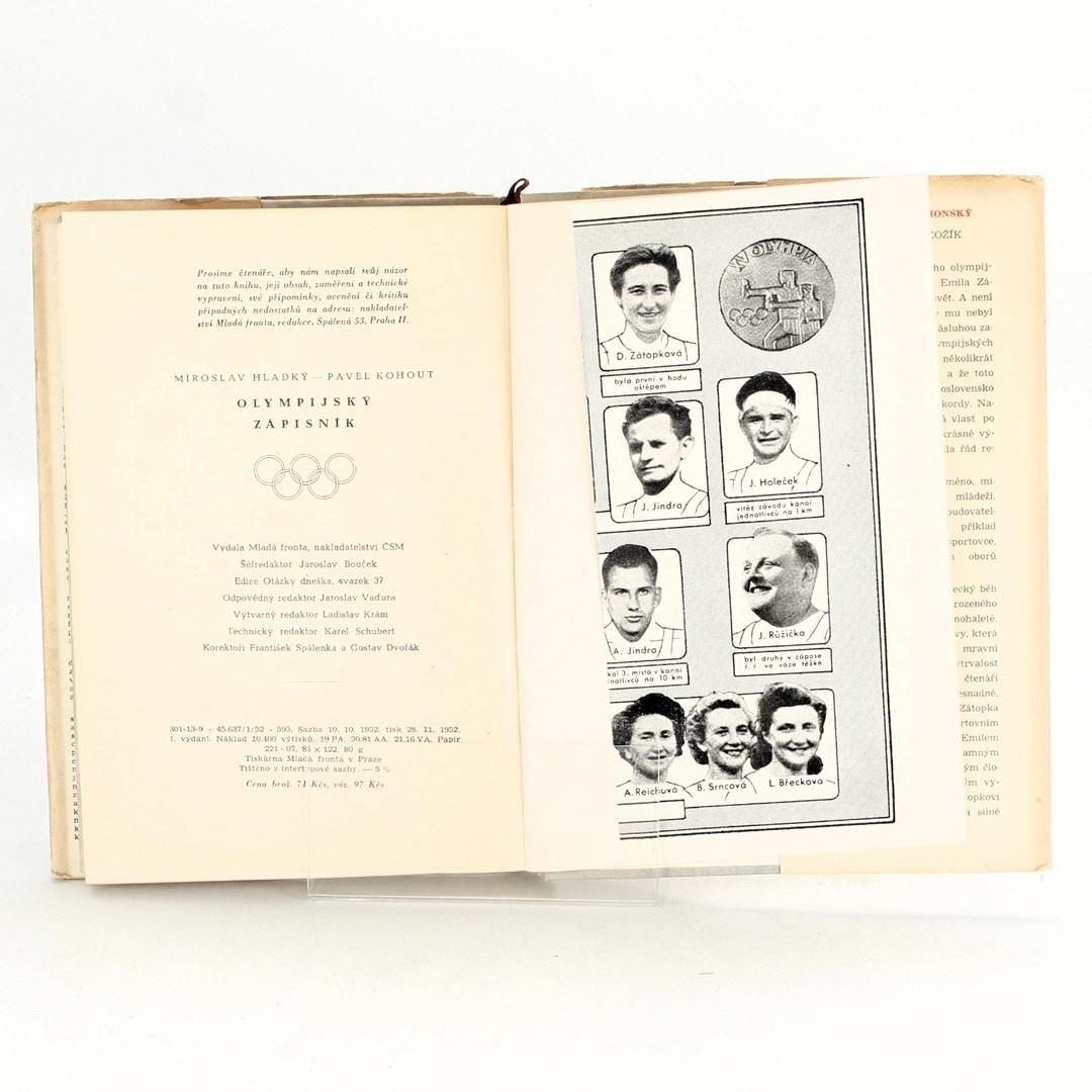 M. Hladký, P. Kohout : Olympijský zápisník
