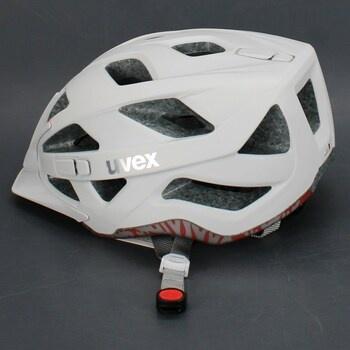 Cyklistická přilba Uvex S410427 bílá 52-57