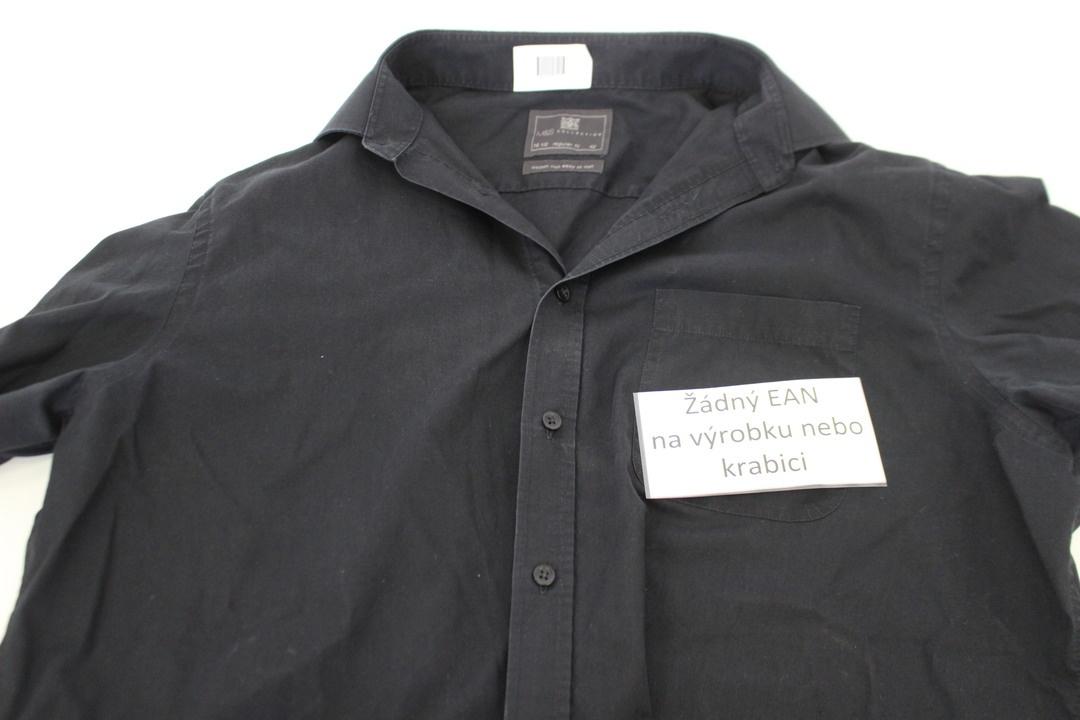 Pánská košile Marks & Spencer černá