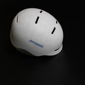 Dětská bílá helma Atomic Mentor JR