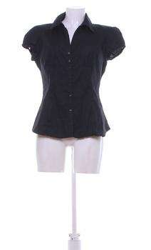 Dámská krátká košile Camaieu černá