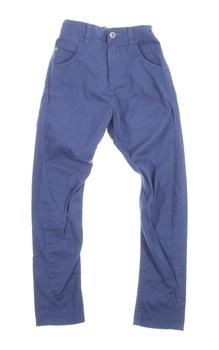 Dětské plátěné kalhoty Next odstín modré