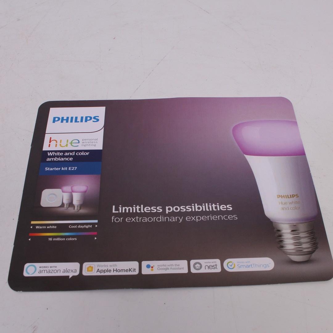 Chytré led žárovky Philips Hue