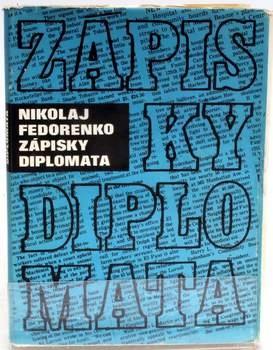 Kniha Nikolaj Fedorenko: Zápisky diplomata
