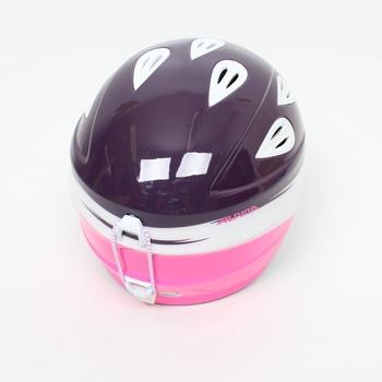 Lyžařská helma Alpina fialová