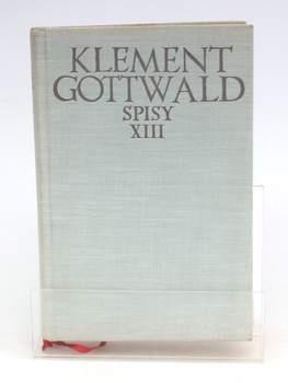 Kniha Klement Gottwald: Spisy Xlll.