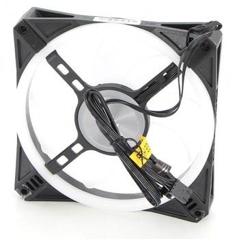 Ventilátor Corsair iCUE QL140 RGB černý