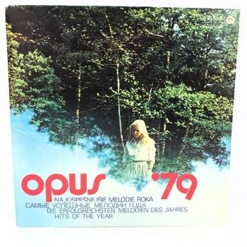 LP deska Najúspešnejšie Melódie roka 79