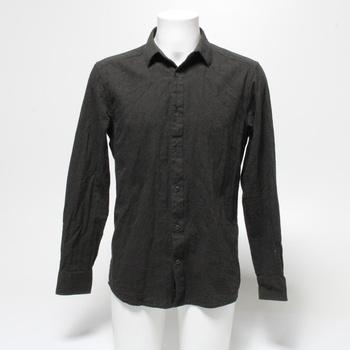 Pánská košile Only & Sons Slim šedá L