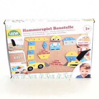 Dětská stavebnice Lena Hammerspiel 64