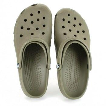 Nazouváky Crocs armádní zelená