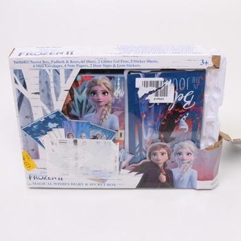 Deníček Disney Frozen 2 Magical Wishes Diary