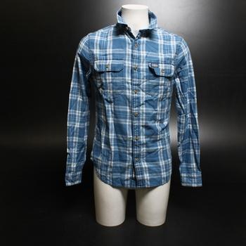 Pánské košile Superdry Mr Merchant Milled