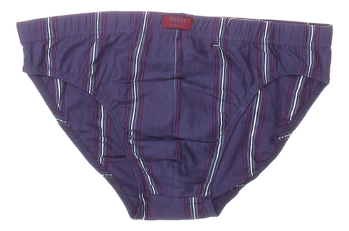 Pánské slipy 7Days Bodywear modré s proužky