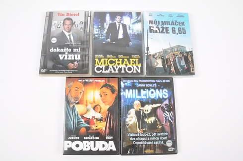 5 filmů na DVD (Dokažte mi vinu, Milions)