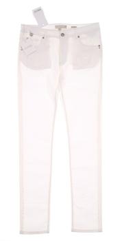 Dámské kalhoty Fracomina bílé barvy