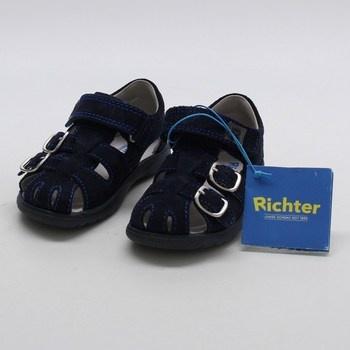 Chlapecké sandále Richter černé