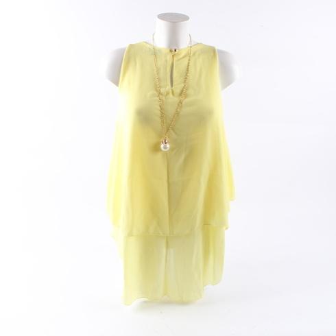 Dámská halenka Lily Doll žluté barvy - bazar  20f17bd973