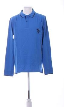 Polo triko U.S. Polo Assn. sv. modré XL