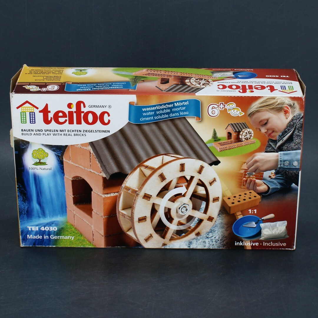 Dřevěná stavebnice Teifoc TEI 4030