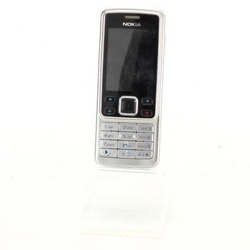 Mobilní telefon Nokia 6300 stříbrnočerný