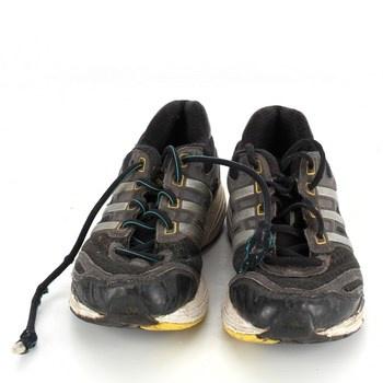 Dětské sportovní boty Adidas černožluté