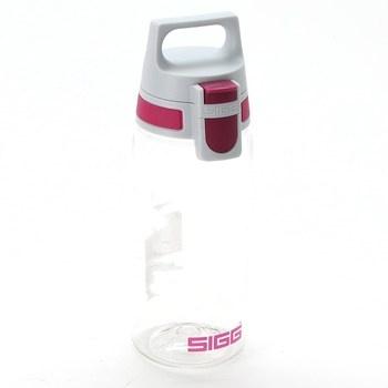 Outdoor láhev Sigg Total Clear růžová 0,5 l