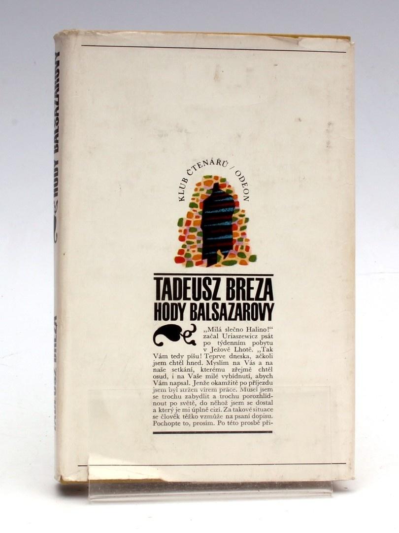 Kniha Tadeusz Breza: Hody Balsazarovy