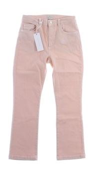 Dámské džíny French Connection růžové