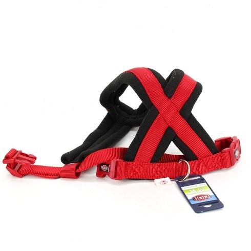Postroj pro psa Trixie Premium M červený