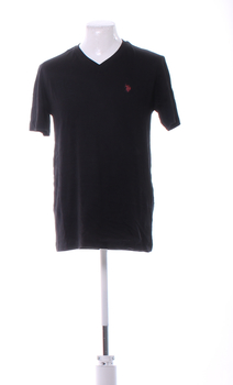 Pánské tričko U.S. Polo Assn. černé M