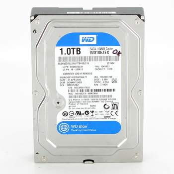 Pevný disk WD WD10EZEX SATAIII 1 TB