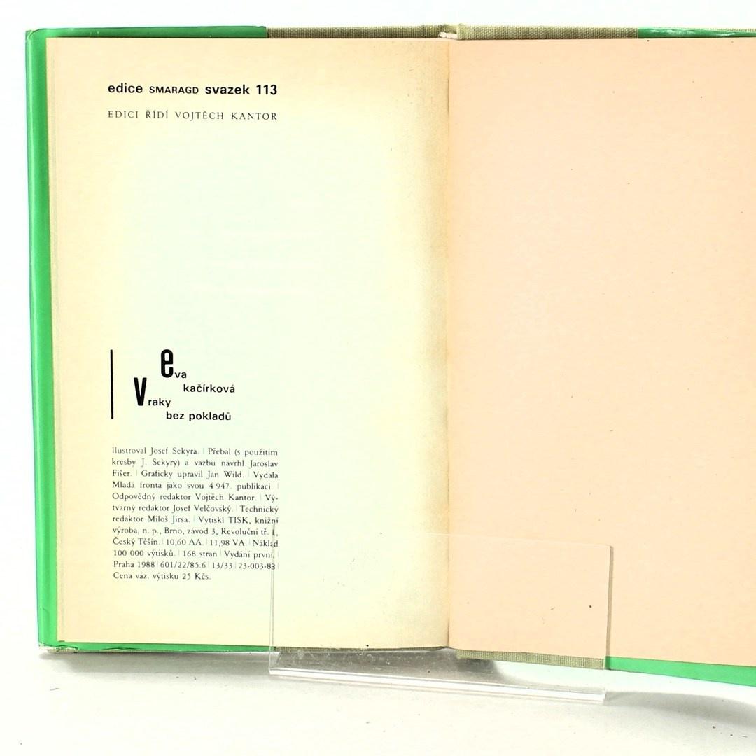 Kniha Eva Kačírková: Vraky bez pokladů