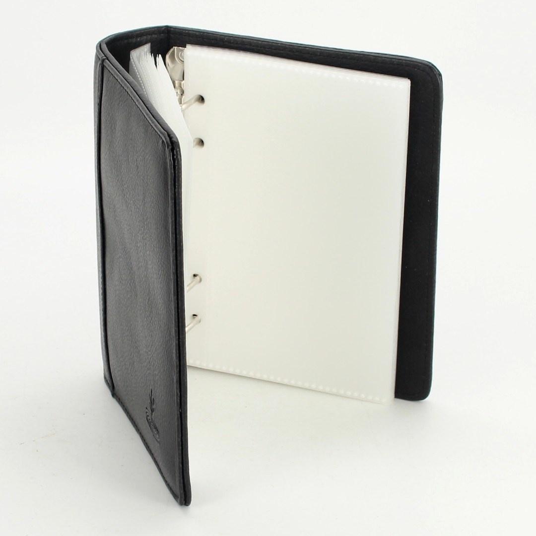 Kožené fotoalbum Krauthammer černé