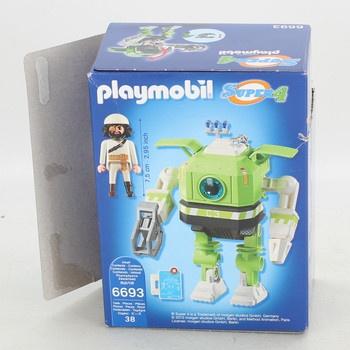 Robot Čistič s padouchem Playmobil 6693
