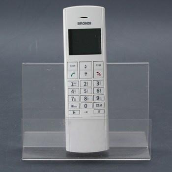Bezdrátový telefon Brondi Lemur bílý