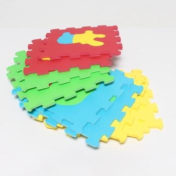 Pěnové puzzle Ludi 30 x 30 cm vícebarevné
