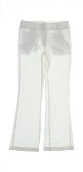 Kalhoty United Colors of benetton bílé